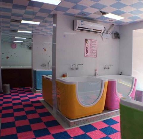 上海嬰兒游泳館