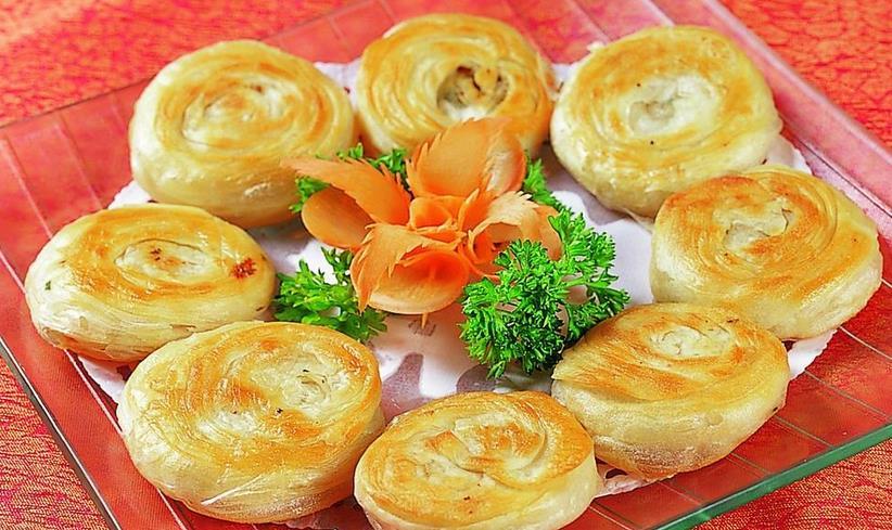 宫廷香酥牛肉饼...<a href=