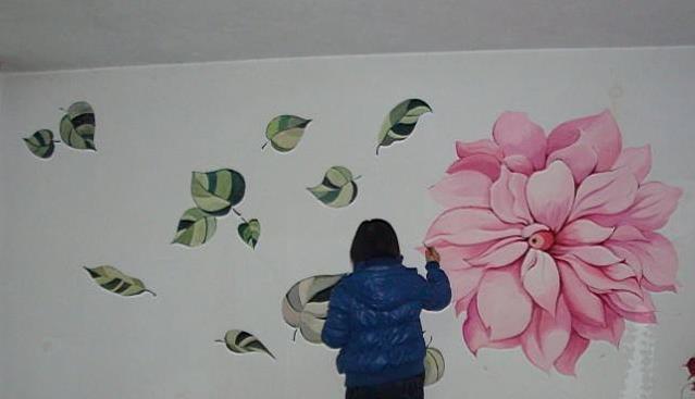 墙壁彩绘加盟