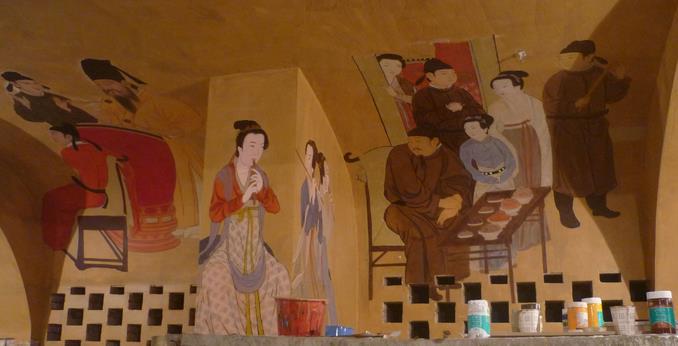 背景墙彩绘加盟