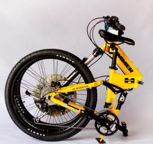 悍马自行车