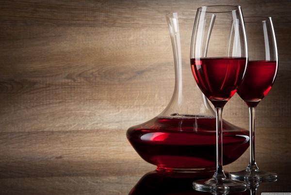 金宾礼红葡萄酒