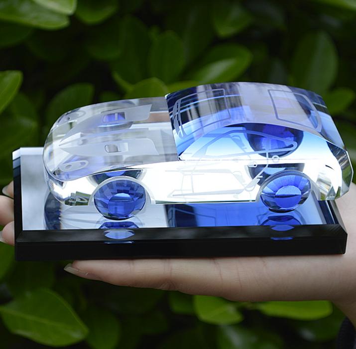盈彩水晶车模型