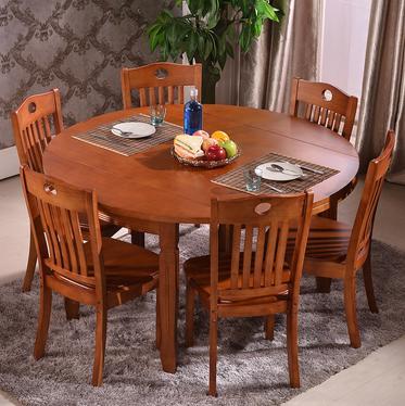 百川餐桌椅组合