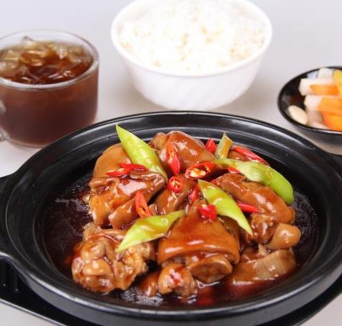 喜多福黄焖鸡米饭