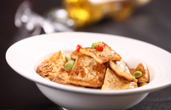 香煎豆腐小吃车加盟
