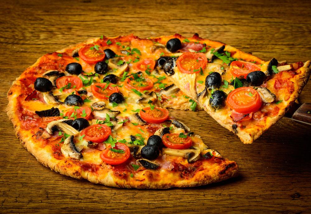 百特喜披萨加盟店装修设计图