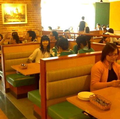 萨莉亚餐厅