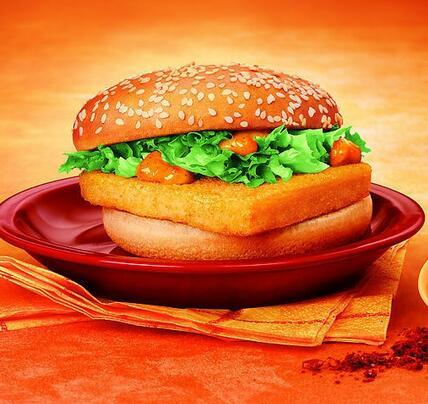 迈巴客炸鸡汉堡
