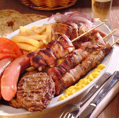 经典日式合萌烤肉