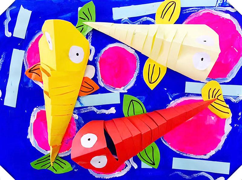 哎咔儿童创意美术项目