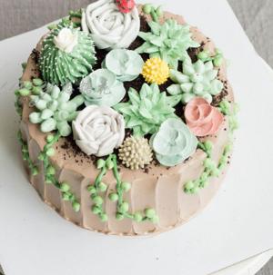 红钻石房蛋糕