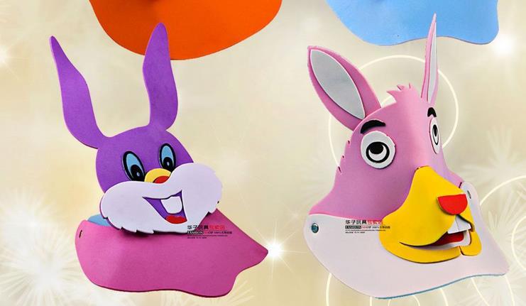 小白兔头饰加盟