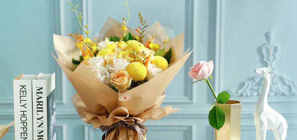 爱尚鲜花加盟