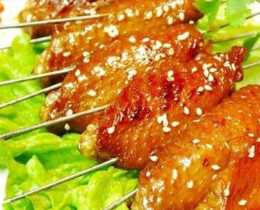 小竹签 烤肉