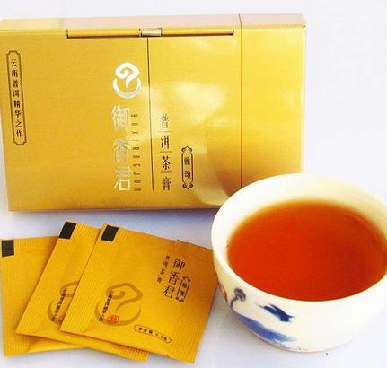 御香君普洱茶膏