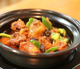益香黄焖鸡米饭