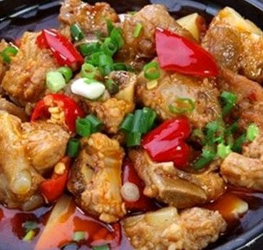 濟味源黃焖雞米飯