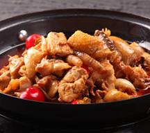 清真雅古布黄焖鸡米饭