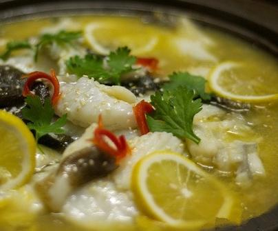 轩溪柠檬鱼火锅