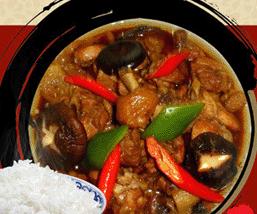 田玉麟黃燜雞米飯
