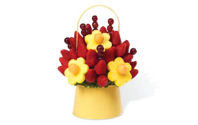 巧克力水果花