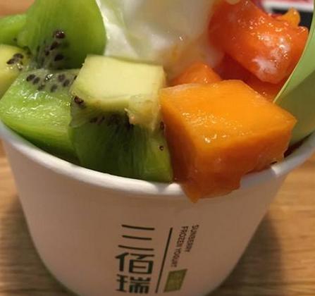 三佰瑞凍酸奶