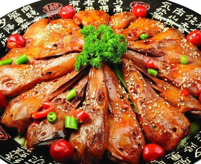 东方龙干锅鸭头