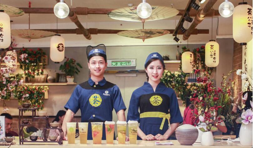 茶公子与茶女仕茶饮加盟