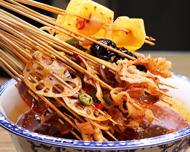 口水留砂锅串串香