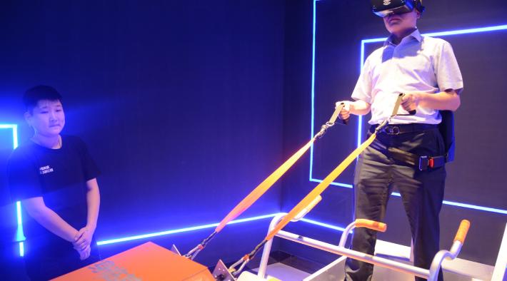 第八感VR主题乐园加盟