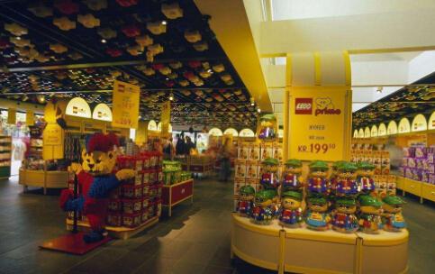 乐高玩具店加盟
