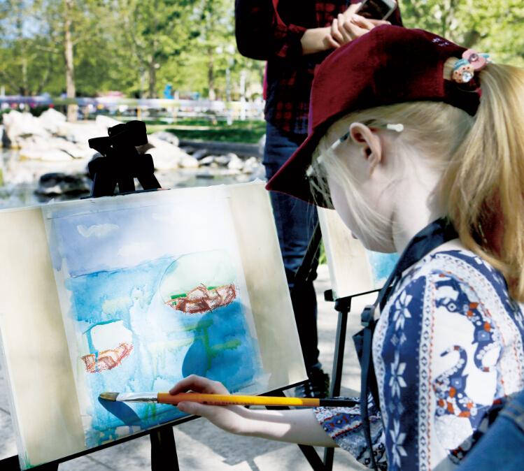 艺美绘美术教育学生绘画