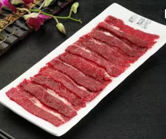 汕锦记潮汕牛肉火锅牛肉