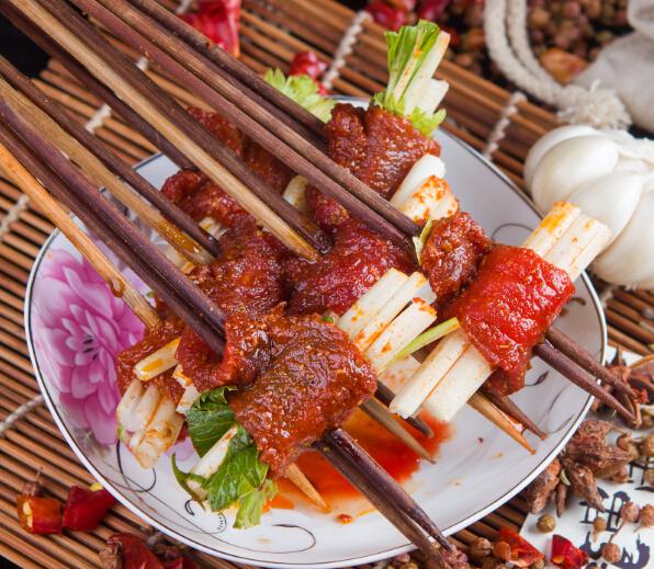 奥龙串串芹菜牛肉