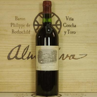 1976拉菲古堡红酒