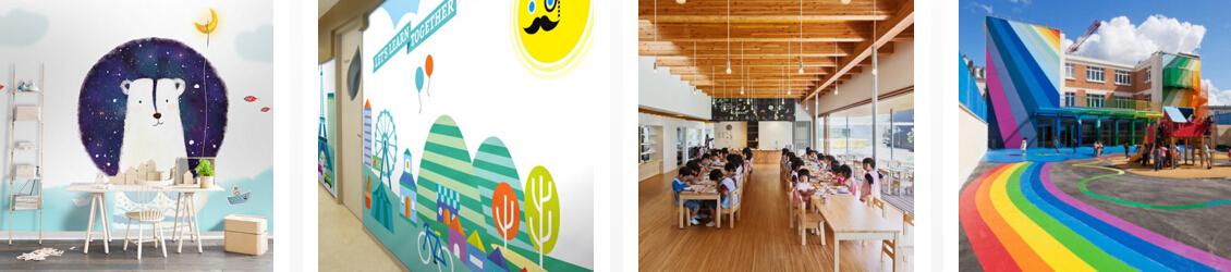 苗画儿美术教育校园环境