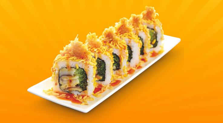 N多寿司深海脆米香卷寿司加盟