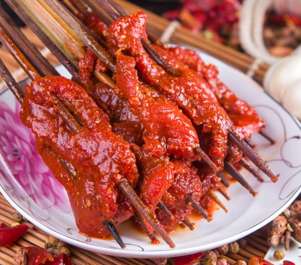 奥龙串串麻辣牛肉