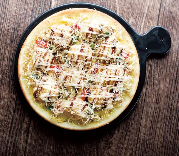 爱8寸章鱼小丸子披萨