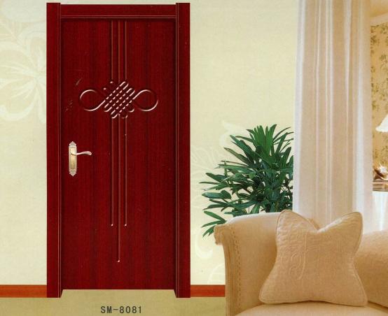 烤漆套装门实物图