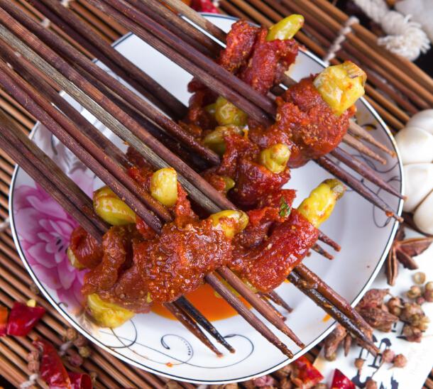 奥龙串串山椒牛肉