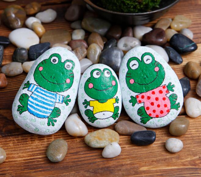 艺美绘美术教育青蛙作品