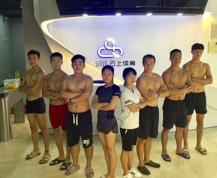 云上游泳公园教练团
