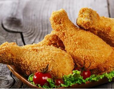 变态薯快餐炸鸡