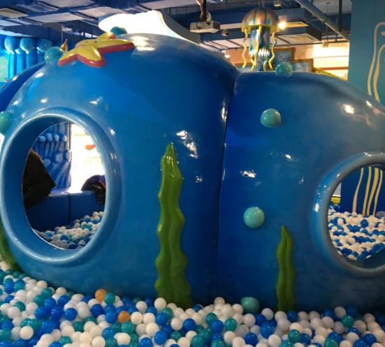 海贝儿儿童乐园海洋球