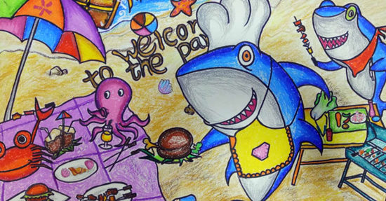 蓝多奇儿童创意美术加盟