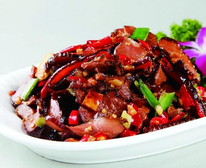 味湘语腊牛肉
