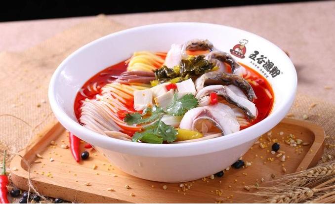五谷鱼粉菜品1