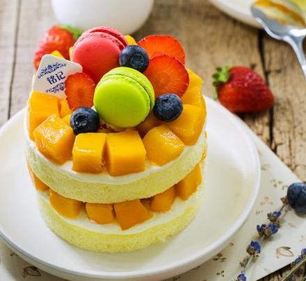 甘甜记水果蛋糕